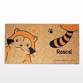 ラスカル コルクコースター(2個セット) 商品画像