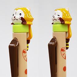プチラスカル マスコット付きシャープペン(2種) 商品画像