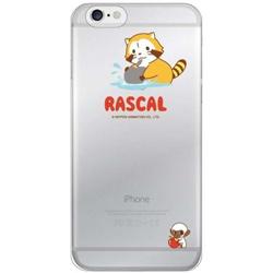 iPhone6対応 シェルジャケットラスカル(クリア) 商品画像