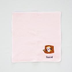 タオルハンカチ プチラスカル(ピンク) 商品画像