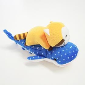 のっかりマスコット(ラスカル&ジンベイザメ) 商品画像