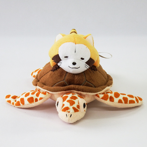 のっかりマスコット(ラスカル&ウミガメ) 商品画像