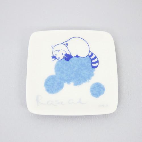 和柄 シャボン玉 プチ角小皿 商品画像