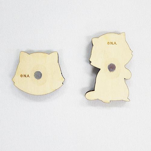 プチラスカル ウッドマグネット 商品画像