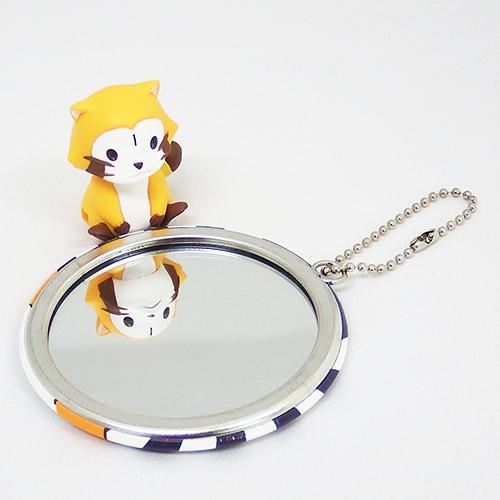 ラスカル 缶バッジ型ミラー(メガネ) 商品画像