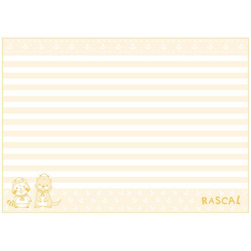 プチラスカルA5ノート(カワウソ) 商品画像