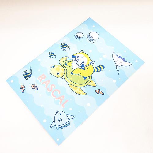 プチラスカルA5ノート(カメ) 商品画像