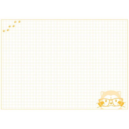 ラスカルA5ノート(メガネ) 商品画像