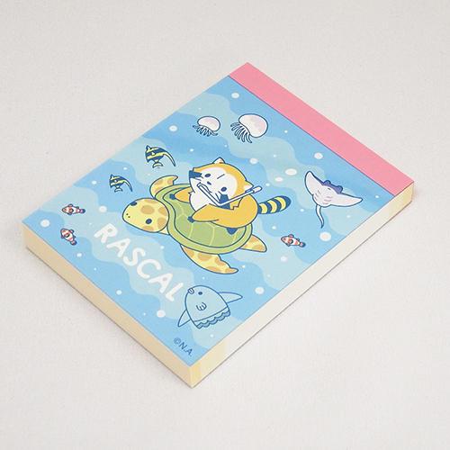 プチラスカルミニメモ(カメ) 商品画像