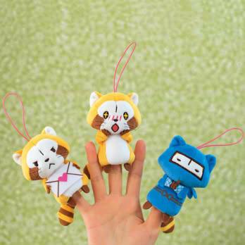 プチラスカル 指人形マスコット(全3種) 商品画像