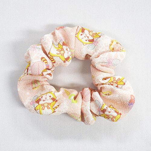 ちりめん・シュシュ(ピンク) 商品画像
