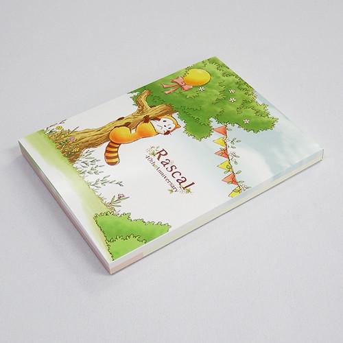 あらいぐまラスカル メモ帳(リーフ) 商品画像