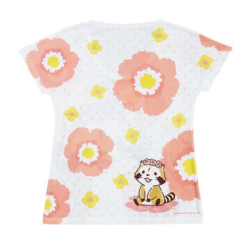 レディースTシャツ 花かんむりA 商品画像
