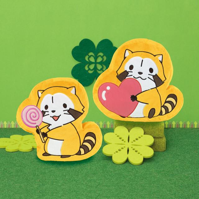 スタンプクッション -キャンディ&ハート- 商品画像