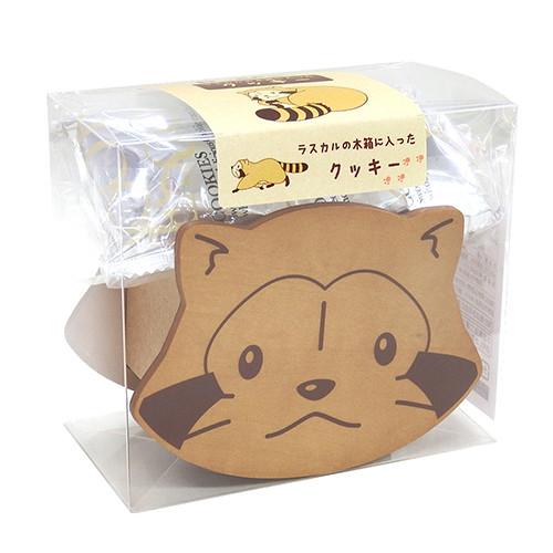 ラスカルの木箱に入ったクッキー 商品画像