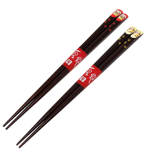 ラスカル×夏野 塗り箸(2種) 商品画像