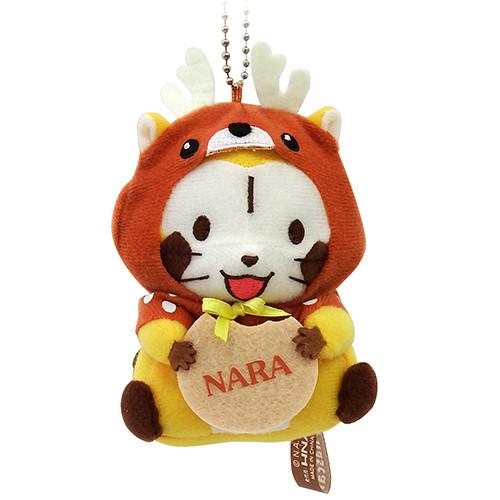 奈良限定「鹿」 ぬいぐるみキーチェーン 商品画像
