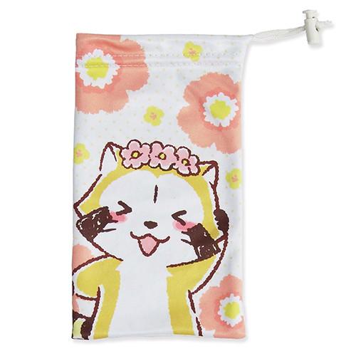 スマホ巾着(花かんむり) 商品画像