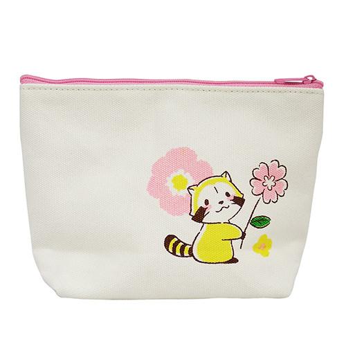 帆布ポーチ(花かんむり) 商品画像