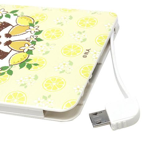 USB出力 充電器(レモン/総柄) 商品画像