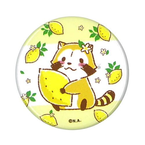 缶バッジ(レモンハグ/レモンリース) 商品画像