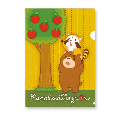 クリアファイル(リンゴ) 商品画像