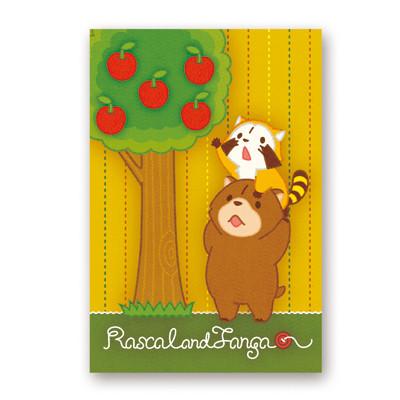 ポストカード(リンゴ) 商品画像
