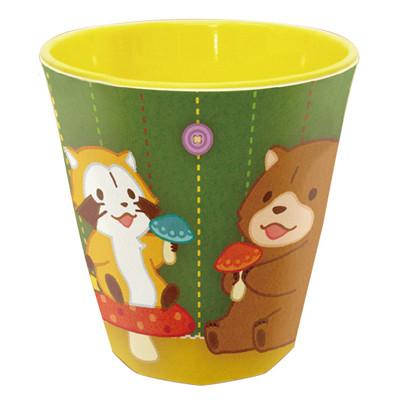 メラミンカップ(イエロー) 商品画像