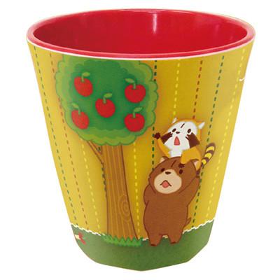 メラミンカップ(レッド) 商品画像